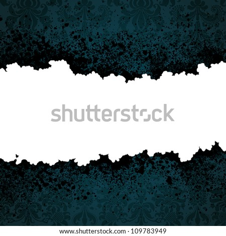 Grunge droplets background