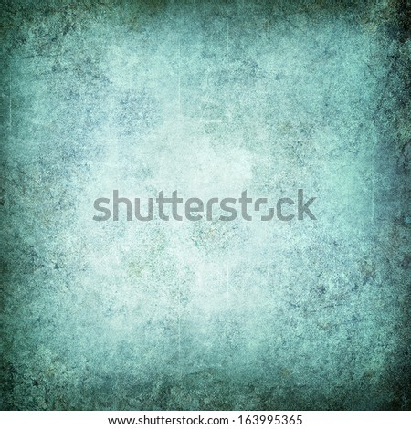 Grunge emerald background - space for text
