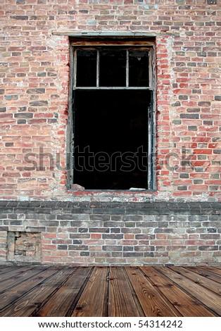 grunge empty room background
