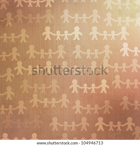 Grunge family abstract vintage background and pattern