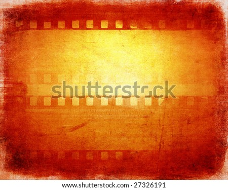grunge film background with space for text or image