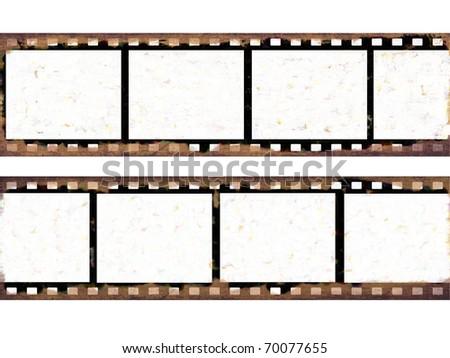 Grunge film frames