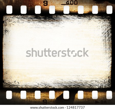 grunge filmstrip, may be used as a background, design element