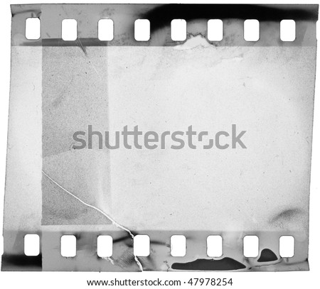 grunge filmstrip, may use as a background