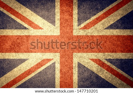 grunge flag of England ,UK #147710201