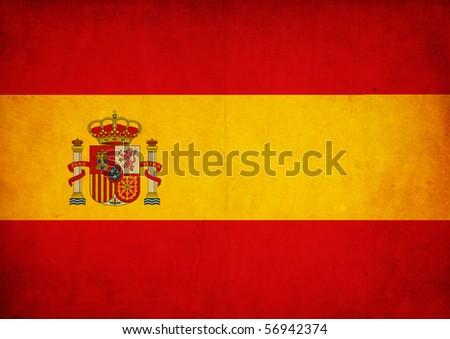 Grunge Flag of Spain