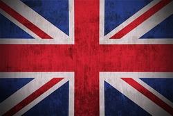Grunge Flag Of UK.