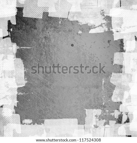 grunge  frame, distressed background