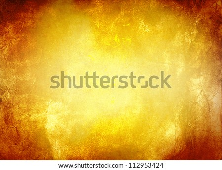 Grunge gold wall (antique texture)