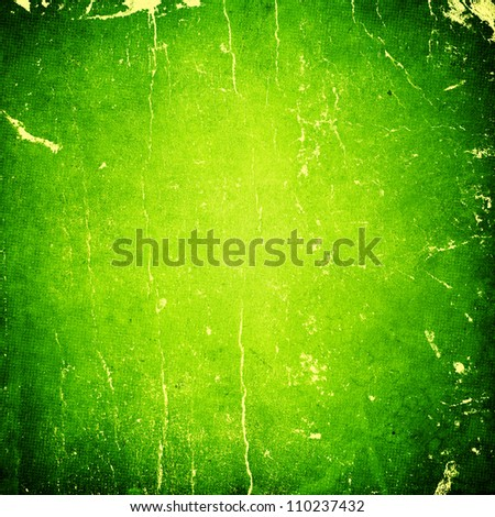 grunge green paper texture, distressed background