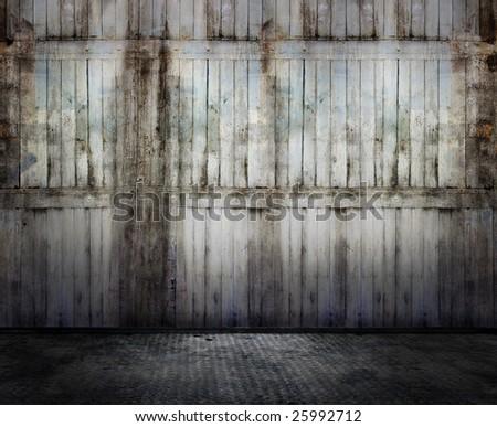 Grunge interior, similar available in my portfolio - stock photo