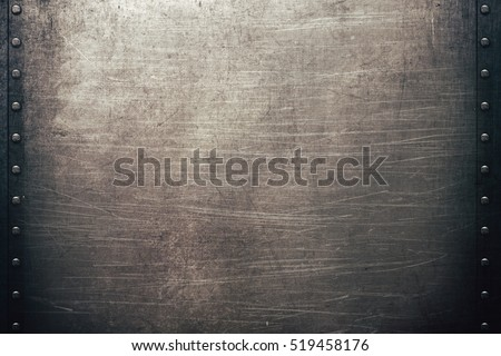 Grunge metal background #519458176