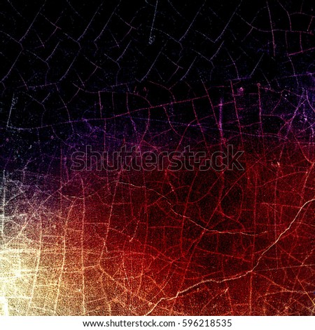 Grunge multicolor texture with cracks #596218535