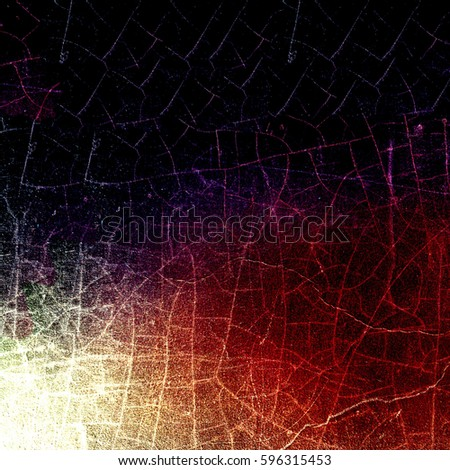 Grunge multicolor texture with cracks #596315453