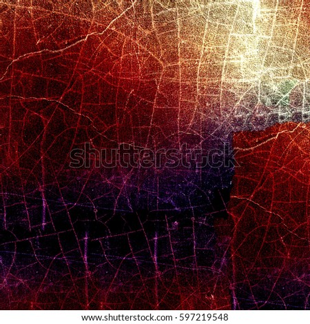 Grunge multicolor texture with cracks #597219548