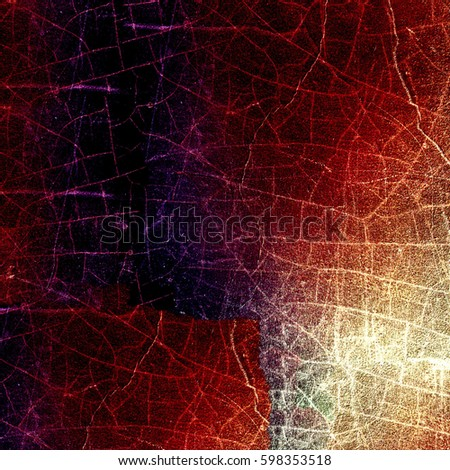 Grunge multicolor texture with cracks #598353518