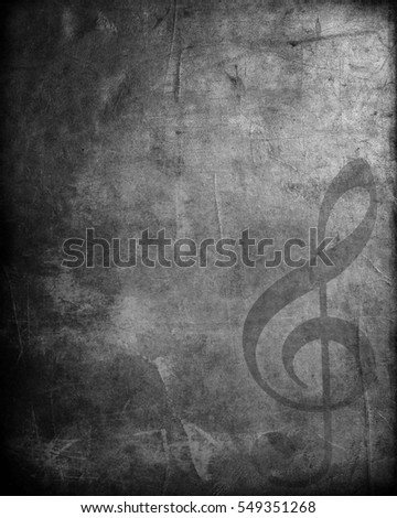 Grunge Musical background
