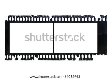 Grunge negative film