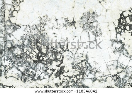 Grunge old cement Wall Background that is decayed and gritty.