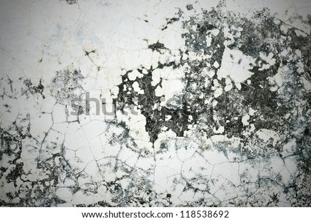 Grunge old cement Wall Background that is decayed and gritty.retro stlye - stock photo