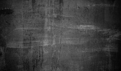 Grunge old stainless metal Texture. Wide Angle Aged black metallic scratched Background. Abstract Dirty Metallic Surface Close up.