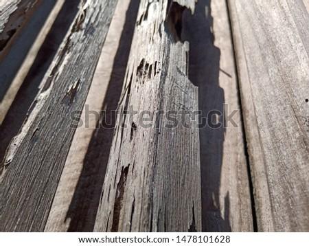 Grunge old weathered wood surface, weathered wood #1478101628