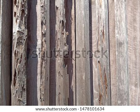 Grunge old weathered wood surface, weathered wood #1478101634