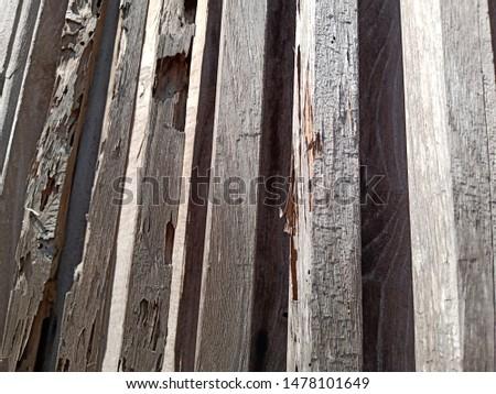 Grunge old weathered wood surface, weathered wood #1478101649