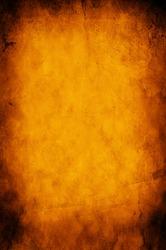 Grunge orange paper background or texture