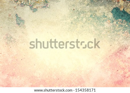 Grunge paper background or texture with space for text or image. Designed old grunge abstract style or concept.