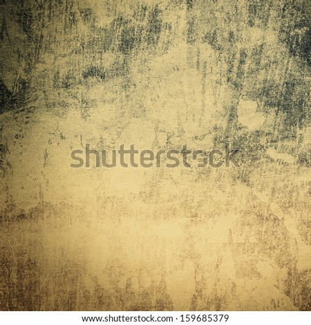 Grunge paper background texture with space for text or image with warm yellow sepia tonning. Designed old grunge abstract style or concept.