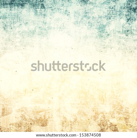 Grunge paper background with space for text. Designed grunge abstract style.