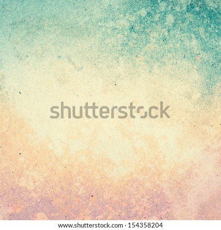 Grunge paper background with space for text or image. Designed old grunge abstract style or concept. #154358204