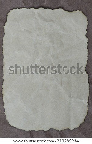 Grunge paper copy space on grey mussy paper background