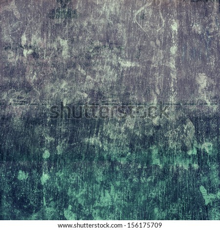 Grunge paper gray and green  texture with space for text or image background. Designed grunge abstract style.