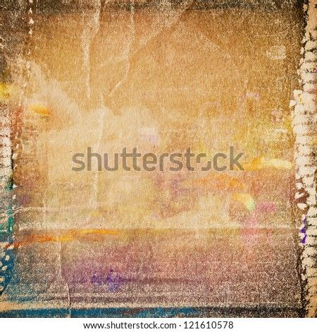 grunge  paper texture, distressed background