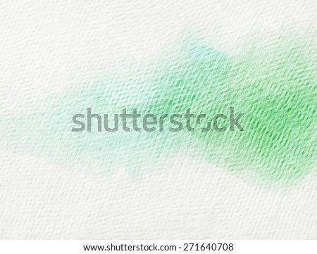 Grunge paper texture. Vintage background. Painted green on paper texture.