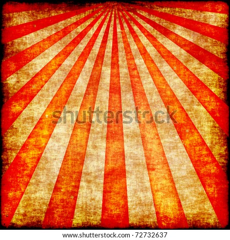Grunge rays illustration in reddish tones