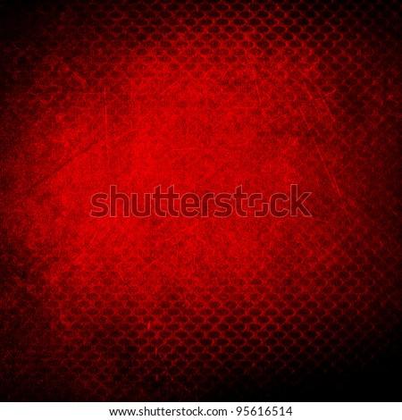 grunge red background - Shutterstock ID 95616514