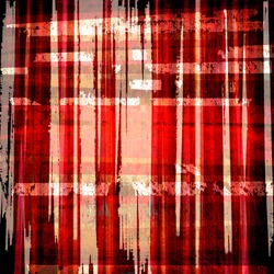 grunge red plaid graphic background design