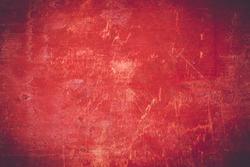 Grunge red wooden background texture