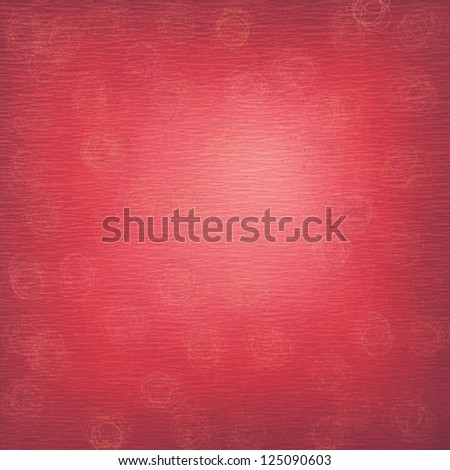 grunge red wrapping paper texture ; abstract background