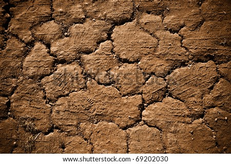 Grunge Road Background - stock photo