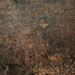 Grunge rust metal plate (Industrial iron background)
