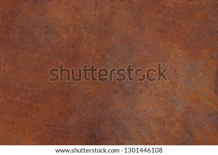 Grunge rusted metal texture, rust and oxidized metal background. Old metal iron panel.  #1301446108