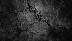 Grunge rustic vintage ancient bad relief path. Aged dirty erosion hard dry scuffed clay way trail. Crannied bumpy floor creviced soil dust footpath. Textured ruined rough heated mud 3D terrain design