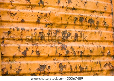Grunge, rusty, orange background, good for textures.