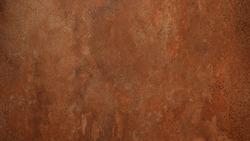 Grunge rusty orange brown metal corten steel stone background texture