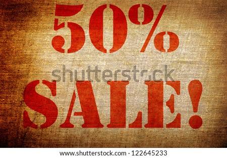 """Grunge """" 50% sale """""""