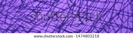 Grunge Scribbles. Elegant Grunge Texture. Fantasy Hand Draw Scrawl. Scratch Texture. Border Abstract Mark Scribble. Scribble Pencil. Chaotic Scrawl. Purple Graphic Ink Wall.